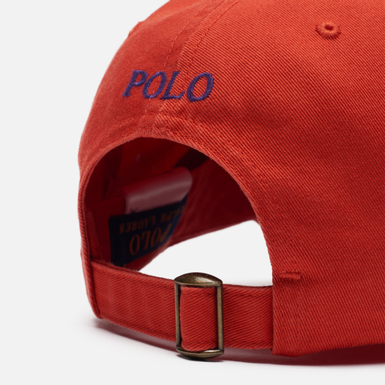 Кепка Polo Ralph Lauren Classic Sport Cotton Chino Orangey Red