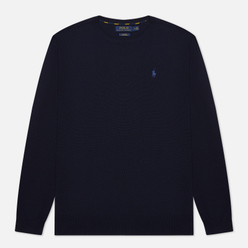 Мужской свитер Polo Ralph Lauren Embroidered Pony Crew Neck Hunter Navy