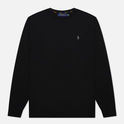 Мужской свитер Polo Ralph Lauren Embroidered Pony Crew Neck Black