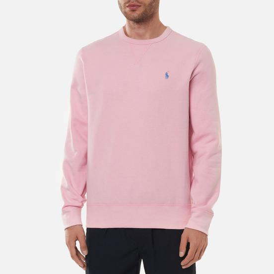 Мужская толстовка Polo Ralph Lauren Embroidered Pony Fleece Crew Neck Carmel Pink