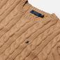 Мужской свитер Polo Ralph Lauren Driver Cotton Cable Camel Melange фото - 1