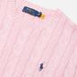 Мужской свитер Polo Ralph Lauren Driver Cotton Cable Carmel Pink фото - 1