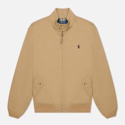 Мужская куртка Polo Ralph Lauren Twill Mockneck City Baracuda Luxury Tan