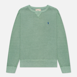 Мужская толстовка Polo Ralph Lauren Garment Dyed Fleece Pistachio