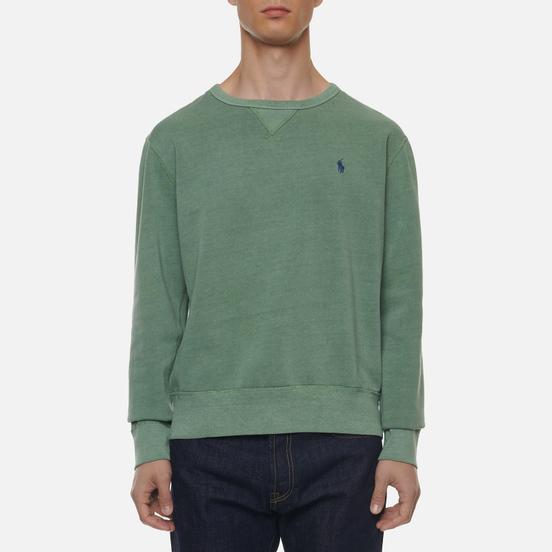 Мужская толстовка Polo Ralph Lauren Garment Dyed Fleece Pistachio