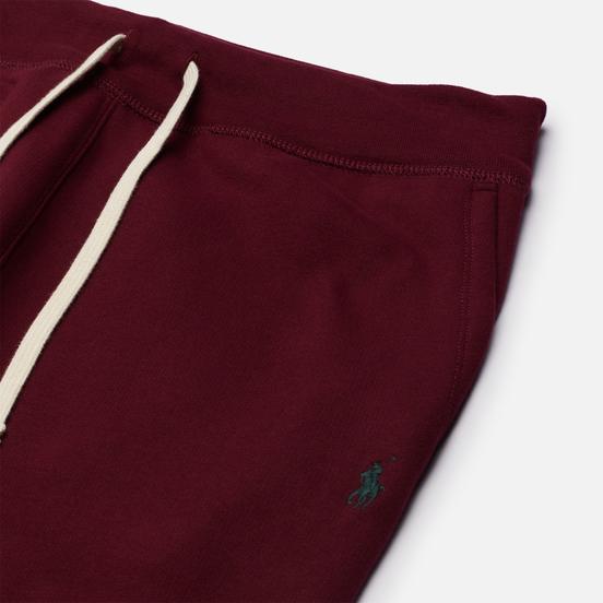Мужские брюки Polo Ralph Lauren Embroidered Pony Vintage Fleece Classic Wine/Green