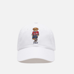 Кепка Polo Ralph Lauren Polo Sport Bear Twill White