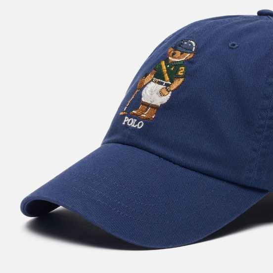 Кепка Polo Ralph Lauren Riding Bear Twill Boathouse Navy