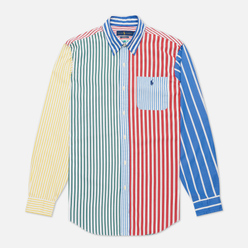 Мужская рубашка Polo Ralph Lauren Button Down Funmix Poplin Striped Fun