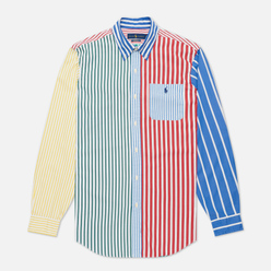 Мужская рубашка Polo Ralph Lauren Button Down Funmix Poplin Striped Fun