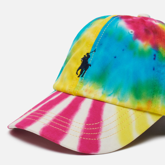Кепка Polo Ralph Lauren Classic Sport Baseball Embroidered Logo Tie Dye