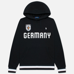 Мужская толстовка Polo Ralph Lauren The Germany Hoodie Vintage Fleece Black