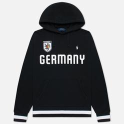 Мужская толстовка Polo Ralph Lauren The Germany Hoodie Vintage Fleece Black