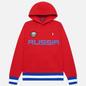 Мужская толстовка Polo Ralph Lauren The Russia Hoodie Vintage Fleece Red фото - 0