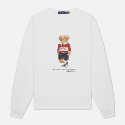 Мужская толстовка Polo Ralph Lauren Polo Sport Bear Magic Fleece White