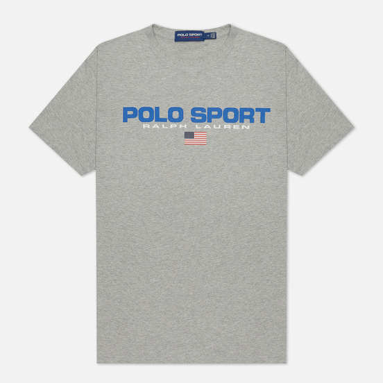 Мужская футболка Polo Ralph Lauren Polo Sport 26/1 Jersey Andover Heather