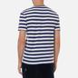 Мужская футболка Polo Ralph Lauren Custom Slim Fit Striped Boathouse Navy/White фото - 3