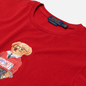 Мужская футболка Polo Ralph Lauren Polo Bear Custom Slim Fit Red фото - 1