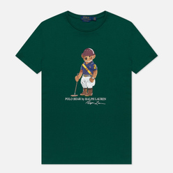 Мужская футболка Polo Ralph Lauren Polo Bear Custom Slim Fit New Forest
