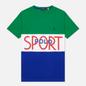 Мужская футболка Polo Ralph Lauren Polo Sport Custom Slim Fit Kayak Green фото - 0