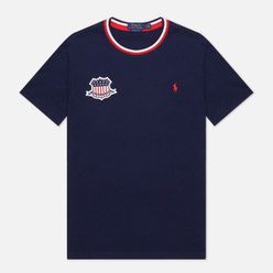 Мужская футболка Polo Ralph Lauren The USA Crew Neck Cruise Navy