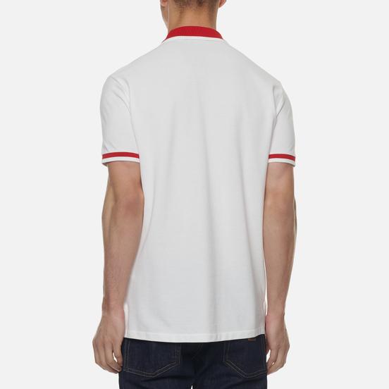 Мужское поло Polo Ralph Lauren The Japan Custom Slim Fit White