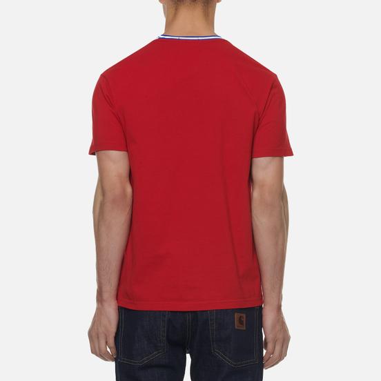 Мужская футболка Polo Ralph Lauren The Russia Crew Neck Red
