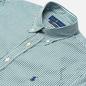 Мужская рубашка Polo Ralph Lauren Slim Fit Striped Natural Poplin Pine/White фото - 1
