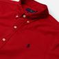 Мужская рубашка Polo Ralph Lauren Slim Fit Garment Dyed Oxford Red фото - 1
