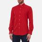 Мужская рубашка Polo Ralph Lauren Slim Fit Garment Dyed Oxford Red фото - 2