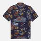 Мужская рубашка Polo Ralph Lauren Surf Pint Vacation Navy/Double O-67 фото - 0