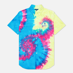 Мужская рубашка Polo Ralph Lauren Custom Fit Tie-Dye Oxford Multicolor
