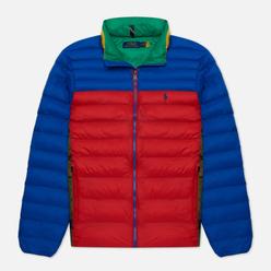 Мужской пуховик Polo Ralph Lauren The Packable Colour-Blocked PrimaLoft ThermoPlume Multicolor