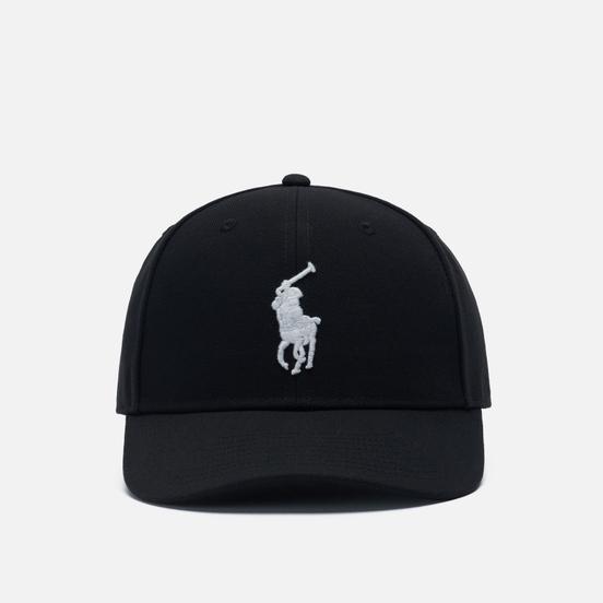 Кепка Polo Ralph Lauren Embroidered Big Pony High Crown Polo Black