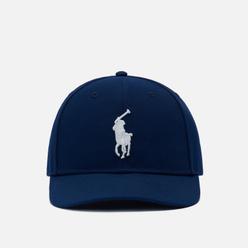 Кепка Polo Ralph Lauren Embroidered Big Pony High Crown Newport Navy