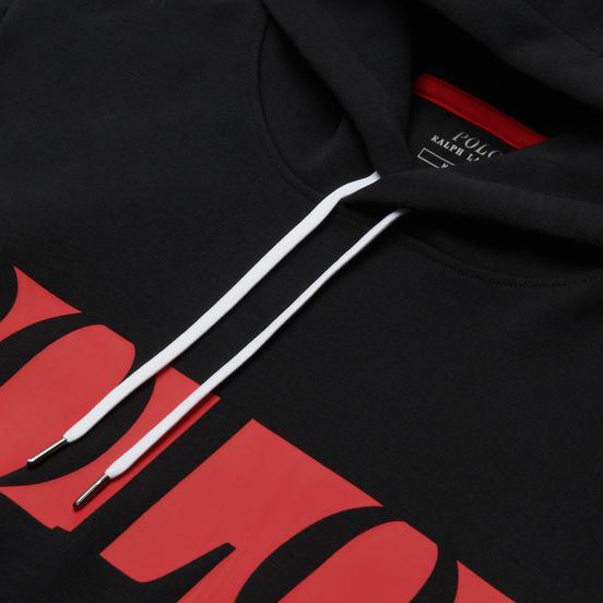 Мужская толстовка Polo Ralph Lauren Logo Double-Knit Tech Hoodie Black