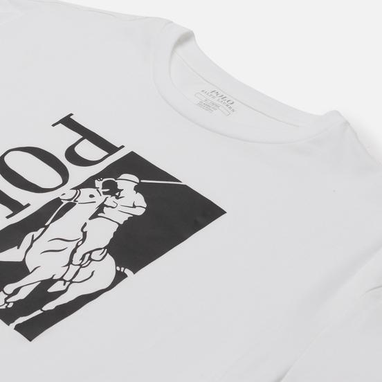 Мужская футболка Polo Ralph Lauren Big Logo Polo Printed White