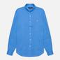 Мужская рубашка Polo Ralph Lauren Slim Fit Piece Dye Linen Harbour Island Blue фото - 0