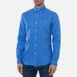 Мужская рубашка Polo Ralph Lauren Slim Fit Piece Dye Linen Harbour Island Blue фото - 2