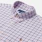 Мужская рубашка Polo Ralph Lauren Slim Fit Plaid Oxford Pink/White фото - 1