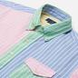 Мужская рубашка Polo Ralph Lauren Custom Fit Oxford Stripe Fun Multicolor фото - 1