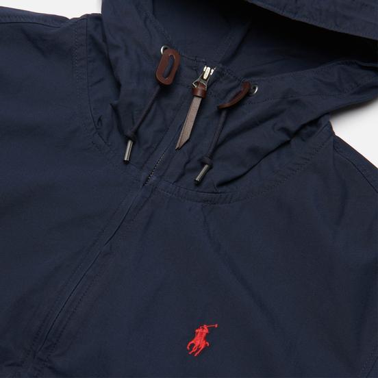 Мужская куртка Polo Ralph Lauren Cotton Poplin Colt Hooded Aviator Navy