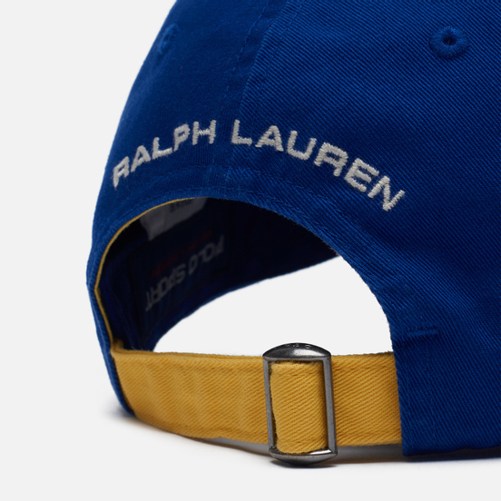 Кепка Polo Ralph Lauren Polo Sport New Bond Chino Active Royal