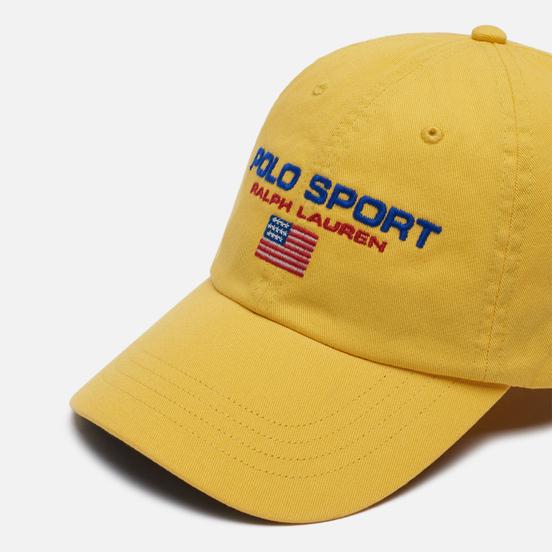 Кепка Polo Ralph Lauren Polo Sport New Bond Chino Chrome Yellow
