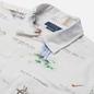 Мужская рубашка Polo Ralph Lauren Classic Fit Print Oxford Camp Apparel Arts Sports фото - 1