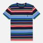 Мужская футболка Polo Ralph Lauren Custom Slim Fit Striped Newport Navy/Multi фото - 0