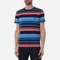 Мужская футболка Polo Ralph Lauren Custom Slim Fit Striped Newport Navy/Multi фото - 2