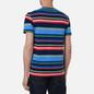 Мужская футболка Polo Ralph Lauren Custom Slim Fit Striped Newport Navy/Multi фото - 3