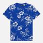 Мужская футболка Polo Ralph Lauren Floral Print Crew Neck Sapphire Star Pacific Hibiscus фото - 0