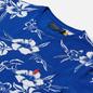 Мужская футболка Polo Ralph Lauren Floral Print Crew Neck Sapphire Star Pacific Hibiscus фото - 1